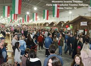 Fonte Acervo Turismo Nova Trento