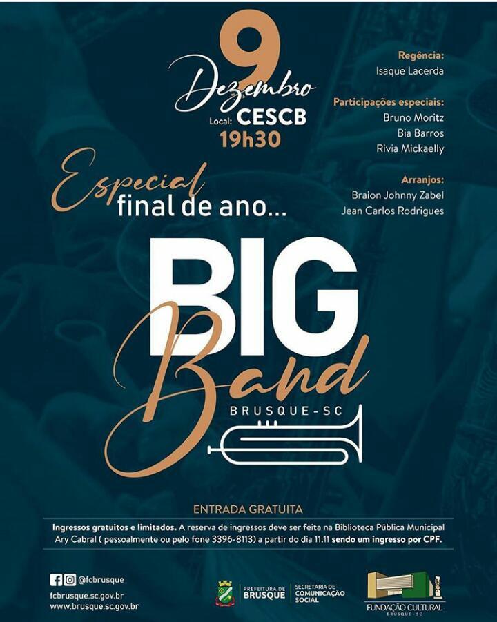 Especial Final de Ano Big Band Brusque