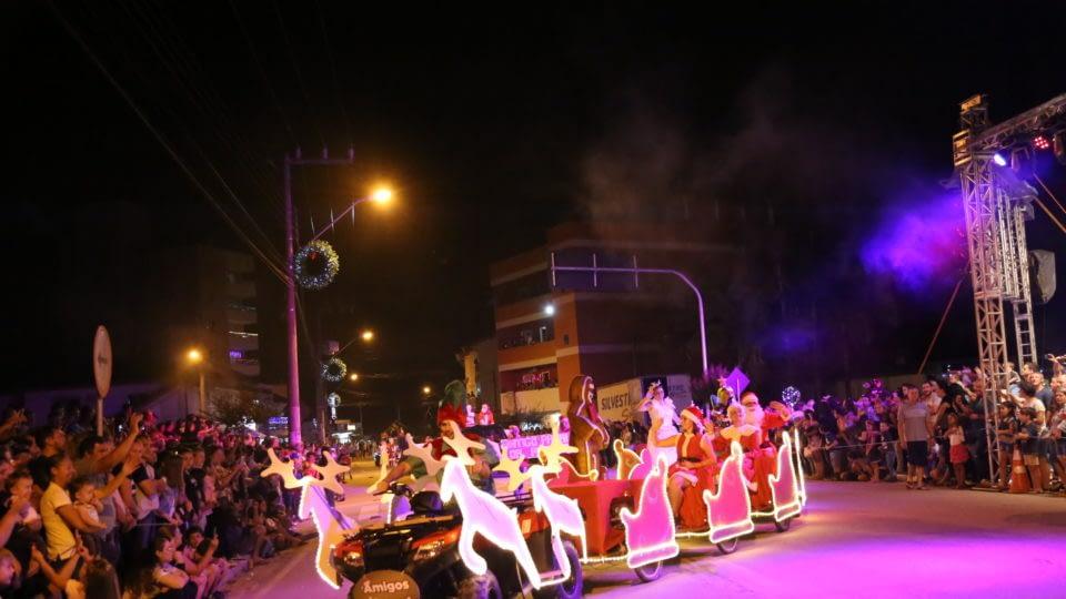 Desfile de Natal e Feira Natalina estão com inscrições abertas em Guabiruba