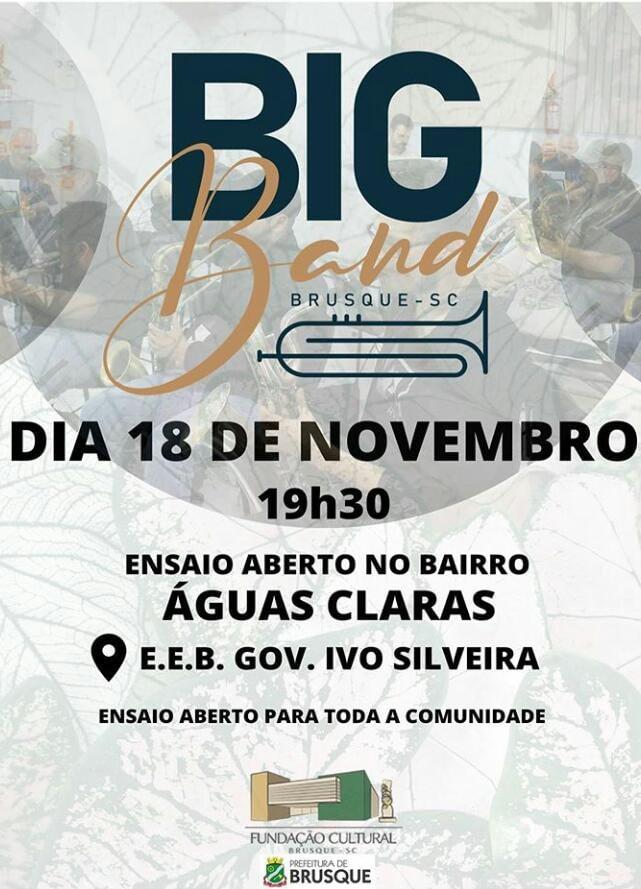Ensaio Aberto Big Band Brusque
