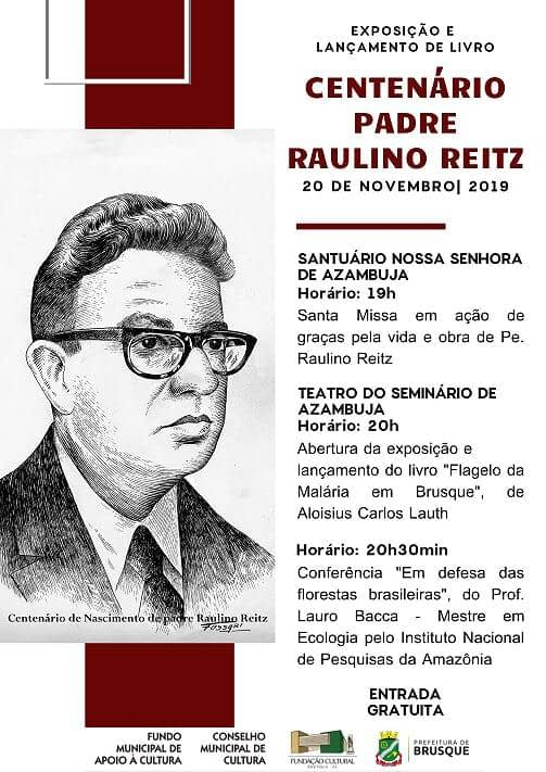 Exposição e Lançamento de Livro Centanário Padre Raulino Reitz