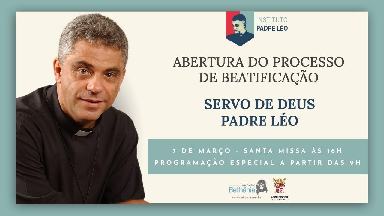 Prefeitura de Brusque e Secretaria de Turismo apoiando evento: Missa de abertura do Processo de Beatificação – Padre Léo em São João Batista (Santa Catarina)