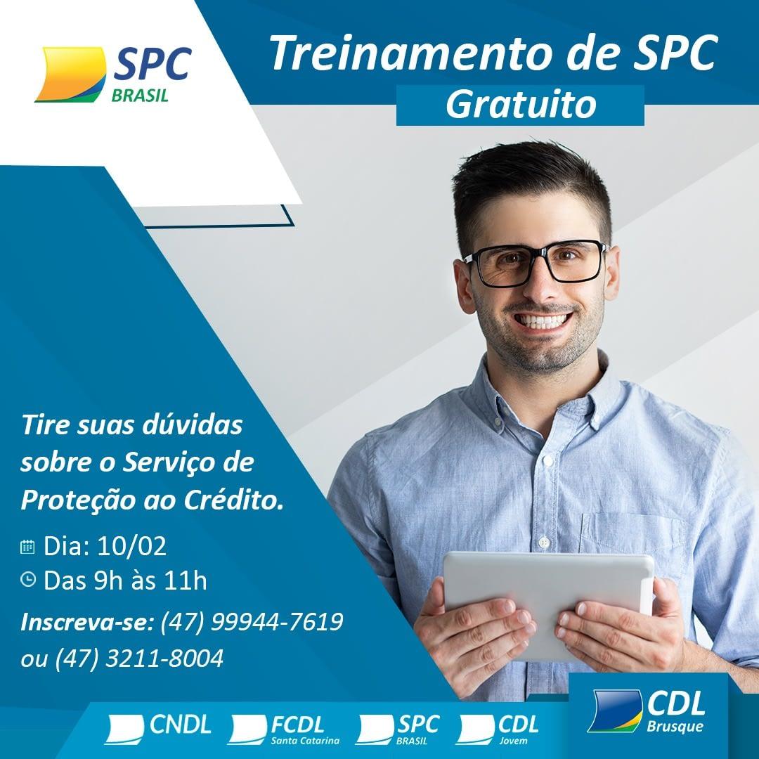 Treinamento Gratuito de SPC - CDL
