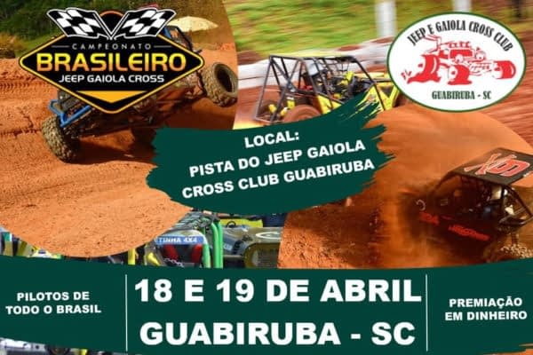 2ª Etapa do Campeonato Brasileiro Jeep Gaiola Cross